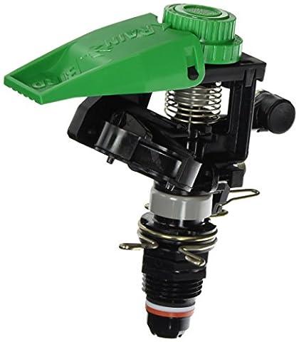 Rain Bird P5-R PLUS Plastic Impact Sprinkler with Nozzle Set, Adjustable 0° - 360° Pattern, 25' - 45' Spray - Rain Bird Full Circle