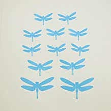 Maibo Blue Dragonfly Wall Sticker for Bedding Room