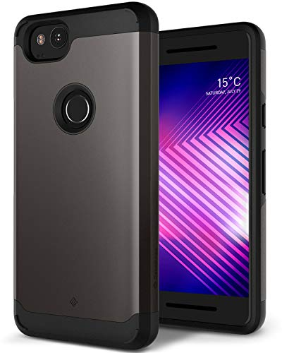 Caseology Legion for Google Pixel 2 Case (2017) - Reinforced Protection - Warm Gray