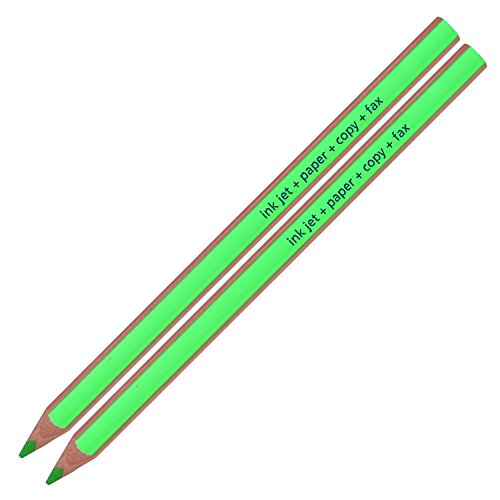 Staedtler Textsurfer Dry Highlighter Pencil 128 64 Drawing for Writing Sketching Inkjet,paper,copy,fax (Pack of 12 Green ) Photo #2