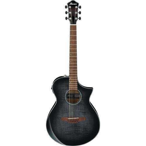 Ibanez AEWC400 - Transparent Black Sunburst High - Ibanez Guitar Transparent