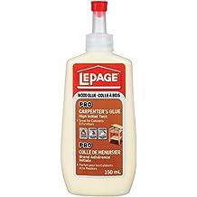 LePage Pro Carpenter's Glue, Oval Bottle, 150ml (530539)