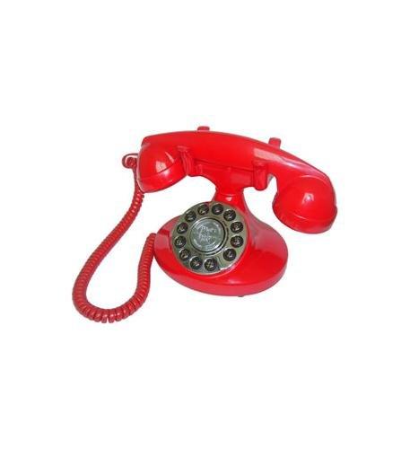Alexis 1922 Decorator Phone RED Computer, - Decorator Phone Alexis