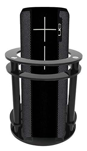 FitSand(TM Speaker Holder Guard Stand Station for Logitech Ultimate Ears UE BOOM 2 (I and II 2 Gen) Speaker - Black by FitSand