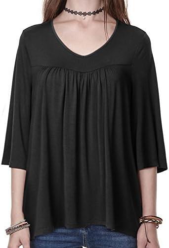 پیراهن تی شرت زنانه Regna X Plus Plus اندازه V گردن ، تی شرت (S-3X ، کوپن های چک)