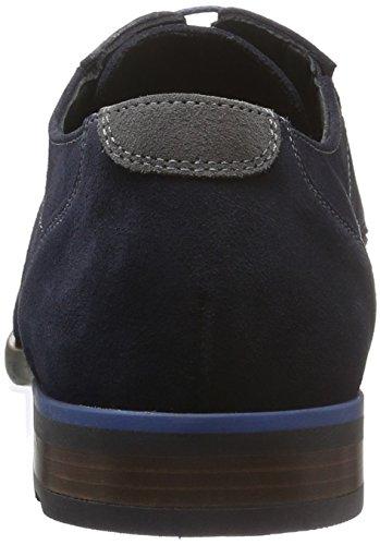Lloyd Konvent Extraweit, Zapatos de Cordones Derby para Hombre Azul - Blau (Ocean/fumo 1)
