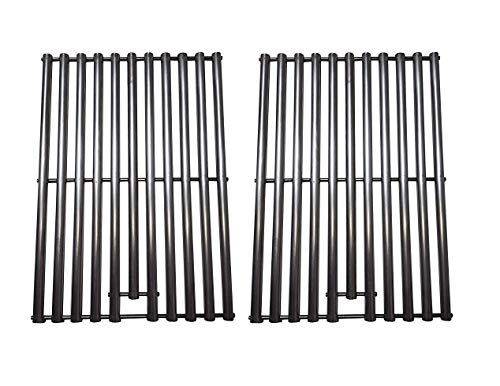 - Zljoint Stainless Steel Cooking Grid Replacement for Select Gas Grill Models by Kenmore, Nexgrill and Others, Set of 2