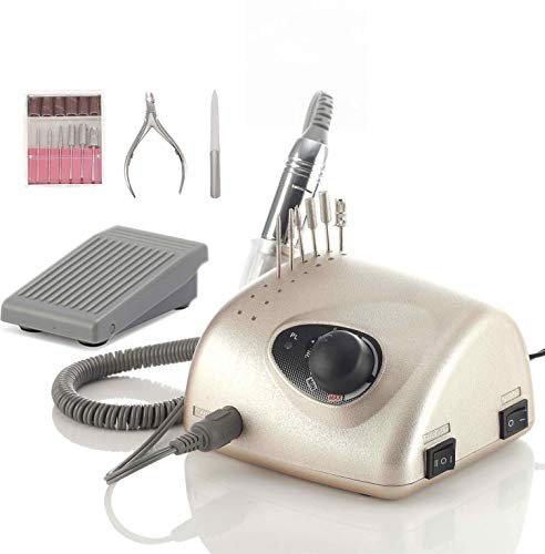 Miss Sweet Electric Nail Drill Machine Nail File Acrylic Gel Nail Grinder Tool RPM35000 (Y1 -