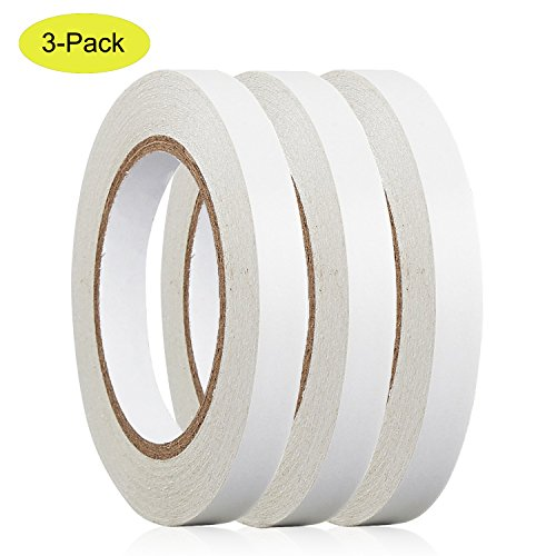 movable 10MM x 30 Yards 3 Rolls For Scrapbooking, Card Making, Gift Wrapping (Double Bead Line)