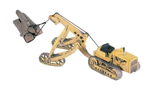 Woodland Scenics HO Tractor w/Logging Cruiser
