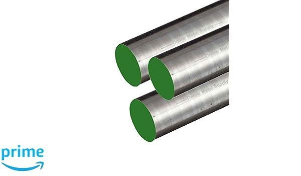"C1018 Steel Round Bar 5/"" Diameter x 2/""-Long"