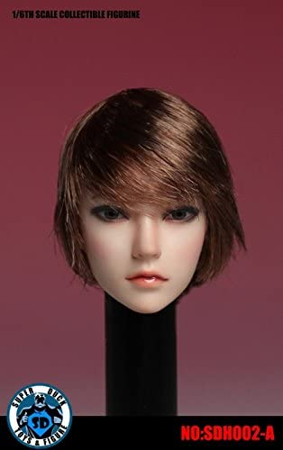 *US FREE SHIPPING* SUPERDUCK 1//6 scale Female Head sculpt in PALE SDH002C