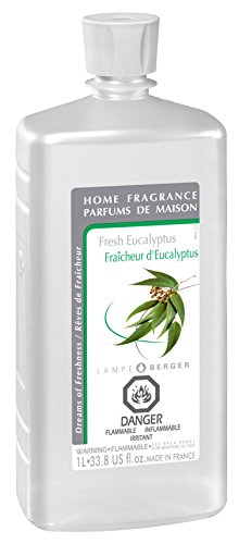 Lampe Berger Fragrance, 33.8 Fluid Ounce, Fresh Eucalyptus (Candles That Purify The Air compare prices)