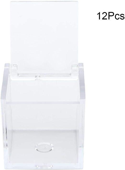 NITRIP 12PCS Cajas de Dulces Caja de Regalo de Dulces de plástico ...