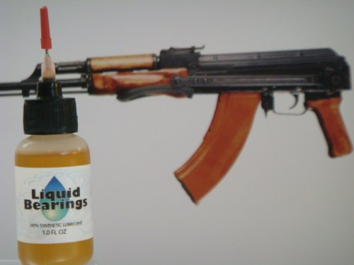 Liquid Bearings synthetic oil, the BEST lubrication and corrosion-prevention for all rifles and guns, modern or vintage - never becomes gummy, ultimate high and low temperaure performance, won't attract and retain dirt, does not evaporate!