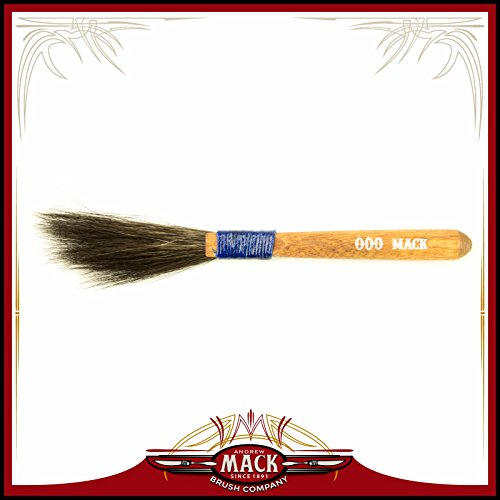 Pinstriping Brush Sword (The Original Mack Sword Striping Size 000 Series 10 Blue Squirrel Hair Pinstriping Brush 3/16