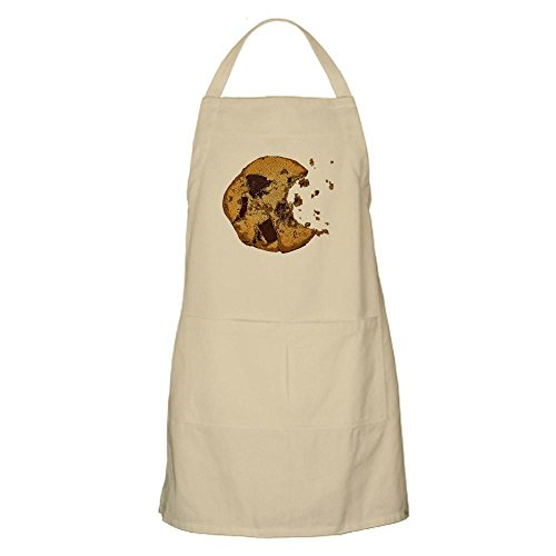 Bbq Cupsreviewcomplete Apron - CafePress Chocolate Chip Cookie BBQ Apron Kitchen Apron with Pockets, Grilling Apron, Baking Apron