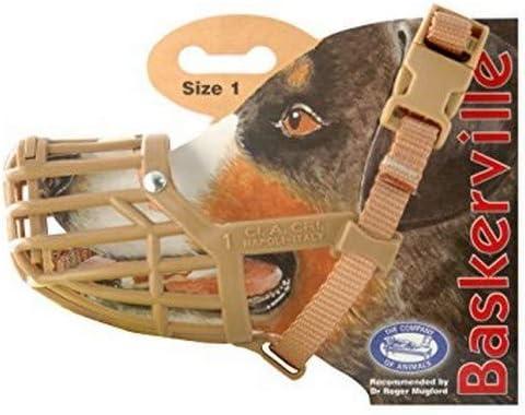 Baskerville Muzzle Brown Size 3