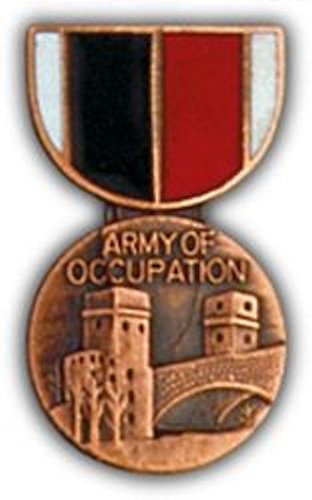 Army of Occupation Mini Medal Small ()