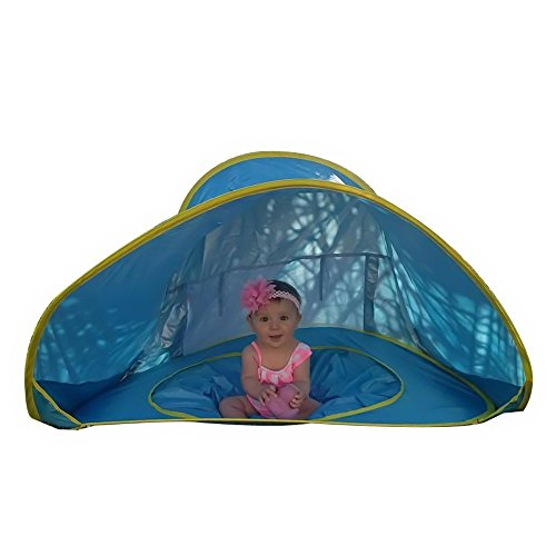 Baby Pop Up Beach Tent with a Pool Provides Portable Shade and  a UV Protection Sun Shelter. by Blush Home