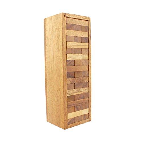 印象のデザイン BRAIN GAMES Wooden Tower Game Game 54 18 B01EYIU3NC Blocks 18 Inch (Jumbo XXL) B01EYIU3NC, 工具箱:73dd050a --- dou13magadan.ru