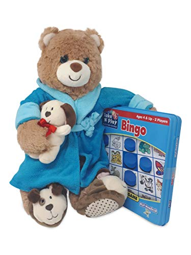 Red's Toy Shop Get Well Bear with Magnetic Game Set