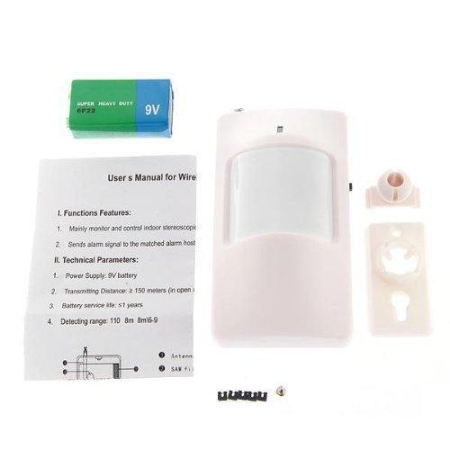 14 opinioni per PH-WML PIR IR Sensore Allarme Wireless GSM Angolo Regolabile Antifurti Casa