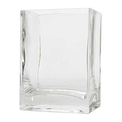225 & IKEA REKTANGEL - Vase clear glass - 14 cm