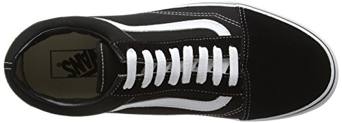 Vans Old Skool Unisex Adulti Sneakers Basse Nero / Bianco
