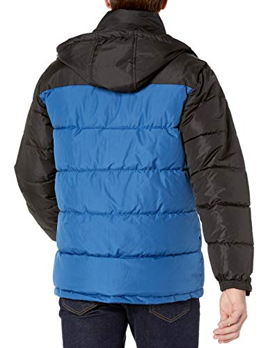 Reebok mens Heavy Weight Hooded Bubble Jacket