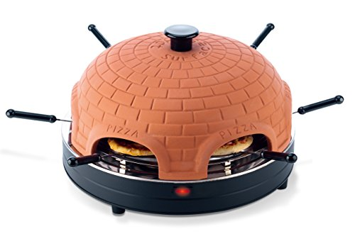 Pizzadome Pizzadom Pizzaofen Backofen Pizzabackstein Pizzabackofen Pizza Ofen für 6 Person