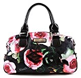 Nicole Lee Lara Spring Shoulder Handbag – Black, Bags Central
