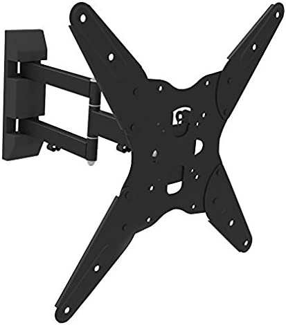 Ematic Full Motion Articulating Wall Mount Kit for 17 – 55-Inch TV s with 6-Foot HDMI Cable