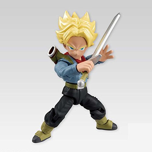 Bandai Dragon Ball Z Power 66 Collection SS Trunks Action Figure (Ss Trunks)
