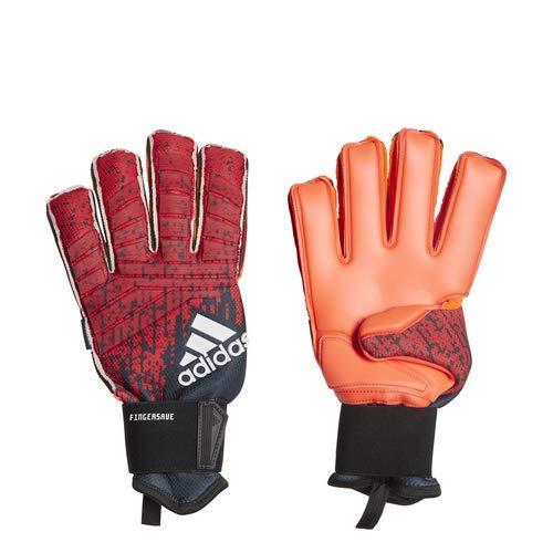 adidas Predator Pro Fingersave, Active Red/Black/Solar Red, 8 adidas performance -hardgoods/accessories - Child Code DN8584