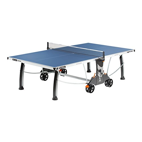 Cornilleau 400M Crossover Indoor/Outdoor Blue Table Tennis Table (Large Image)