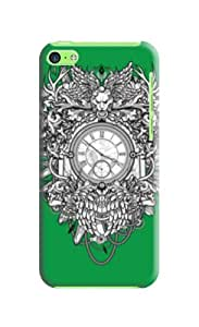 New Style Fashionable designed TPU phone protection case For iphone 5c with Fresh Patterns