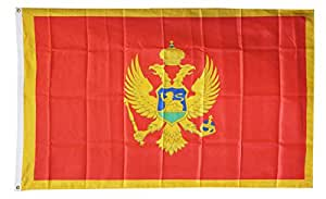 Montenegro - 3' x 5' Dura-Poly™ Polyester World Flag by Flagline