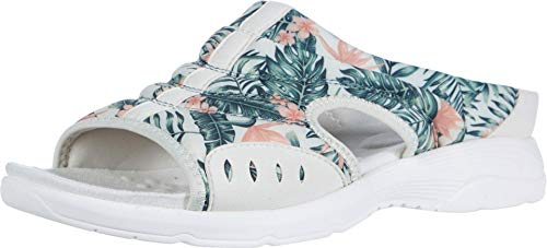 Easy Spirit Womens Traciee2 Open Toe Casual Slide Sandals