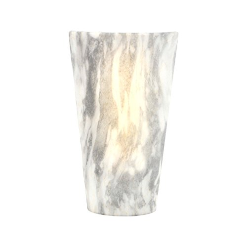 It's Exciting Lighting IEL-2488G High Gloss Sconce Suitable for Indoor And Outdoor Use, Vivid Stone, Battery Powered With Timer, Lightweight And (Sconces Picture Lighting)