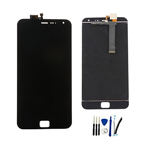 LCD Display Screen digitizer Touch Assembly For Meizu MX4 Pro replacement Black