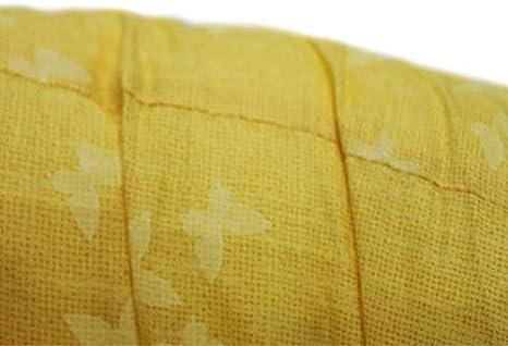Cuscino Gravidanza Allattamento Bimbo 150x30 cm con Federa Giallo Farfalla 100/% Cotone Giovanni Dolcinotti Baby Collection