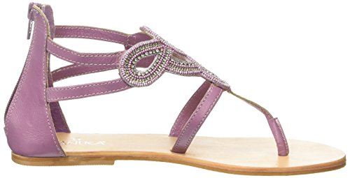 Sandals Beads Tantra Strap Mujer Para Sandalias Purple With A5H6xHq