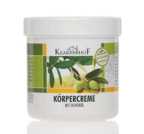 Kräuterhof Crema corpo all'olio d'oliva 250 ml Wundmed