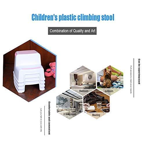 Alexsix 2 Tritthocker Kleinkind Kinder Stuhl Toilette T/öpfchen Training rutschfest f/ür Badezimmer K/üche Blau