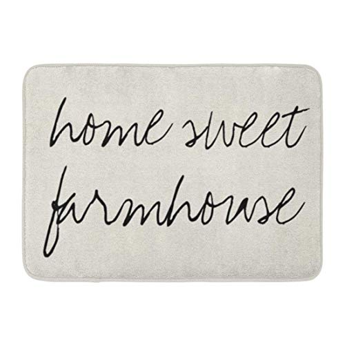Coolest Secret Bath Mat Blessed Sweet Farmhouse Farm House Fixer Upper Bathroom Decor Rug 20