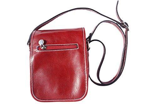 Hombro Larga Rojo Correa Bolsa De 7624 Pequeña Con Pn5Uq