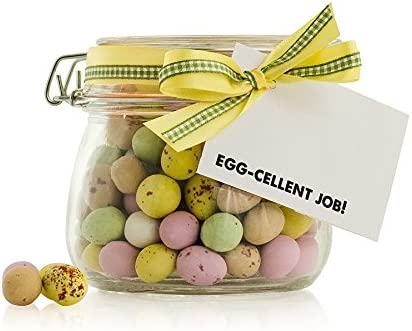Egg Cellent Job Jar Unique Gift Ideas A Great Gift To Say Thank You And Or Well Done Jar Of Retro Sweets Fun And Quirky Gift Ideas Gift