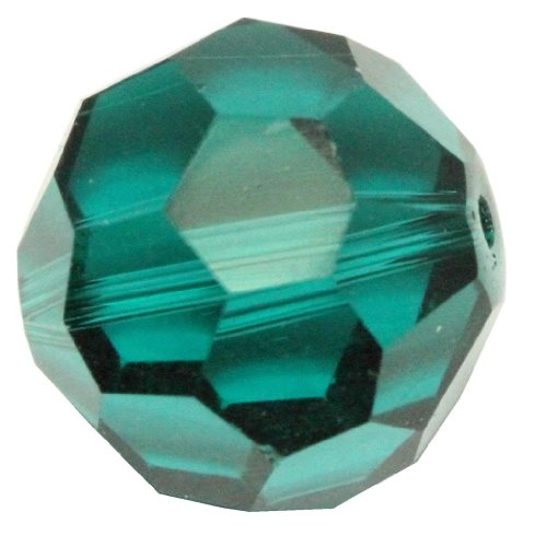 Emerald Sapphire Facet Rondelle Bead (50 8mm Adabele Austrian Round Crystal Beads Emerald Alternative For Swarovski Preciosa Crystalized Beads 5000 #SS2R-824)