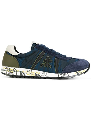 Precio Barato Comercializable Salida Mejores Precios PREMIATA Sneakers Uomo LUCY2460 Pelle Blu ty4z89V79q